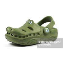 Polliwalks Sandal with Clogs - Gator Army