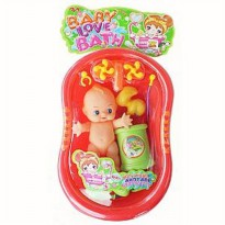 BATH TUB BABY DOLL