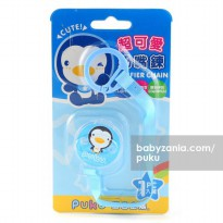 Puku Pacifier / Soother Clipper - Blue