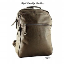 BOURZU PU - 7073 High Quality Leather Backpack