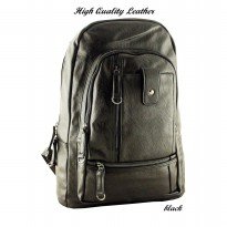 BOURZU PU - 9077 High Quality Leather Backpack