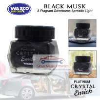 Waxco Platinum Crystal BLACK MUSK FRAGRANCE - Parfum Mobil Premium Original Made In Malaysia