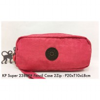 Dompet Import Fashion  Pencil  case 2Zip 2388P – 3