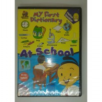 My first dictionary At school Native speaket PC CD rom usia 5-12 tahun