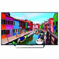 Sony 49' Bravia Smart TV with Android TV KD-49X8000C - Hitam