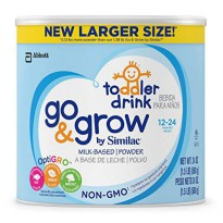 [poledit] Go & Grow by Similac Non-GMO Milk Based Toddler Drink, Powder, 24 Ounce (Pack of/14416099