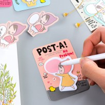 Ponybrown Post-A Post-Its - Label Note Kertas Tulis Tempel Catatan Mini Kecil Lucu Unik Imut Murah