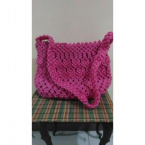 hand made tas rajut collection