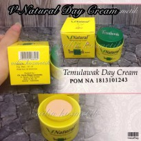 CREAM SIANG TEMULAWAK V NATURAL SUNSCREEN CREAM ORIGINAL BPOM