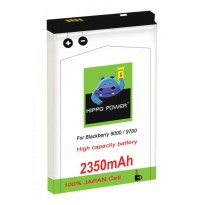 Hippo Power 2350 mAh Battery for BlackBerry Bold, Onyx - BERGARANSI RESMI