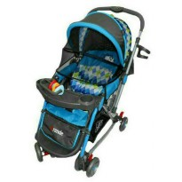 L.I.M.I.T.E.D Stroller Pliko Grande With 4in1 Features Kereta Dorong Bayi