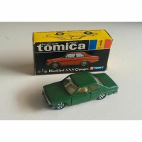 gun tomica black box japan 1 nissan bluebird sss coupe hijau first