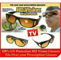HD vision wrap arounds | kacamata anti silau (isi 2 pcs)