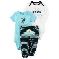 LIMITED CARTER'S Set 3 in 1 JUMPER + PANTS (BEYOND CUTE)