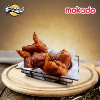 CHICK N ROLL - Mini Chicken Wings [4pcs] (Customize With Your Favorite Sauce)