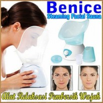 Benice Facial Steam Sauna Alat Facial Sauna Wajah Kosmetik Beauty Suit