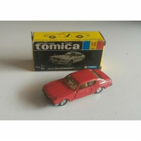 gun tomica black box japan 18 nissan bluebird U 2000 GTX merah 1E