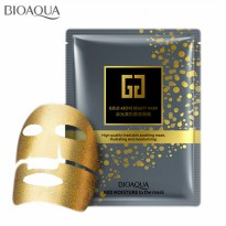 Bioaqua Gold Mask Hydrating and Moisturizing Anti Aging Masker Emas