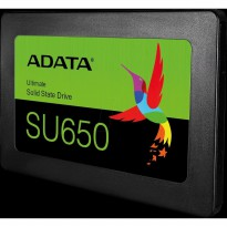 Adata SSD SU650 Ultimate 120GB 2.5 SATA III 120 GB Internal SU 650 3D NAND Flash SATA Original - Garansi Resmi