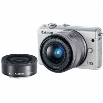 CANON EOS M100 with Double Lens