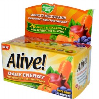 Nature's way Alive Daily Energy Multivitamin - 60 Tablet