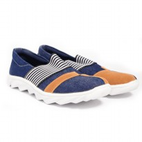 Dr.Kevin Women Canvas Shoes 43206 Navy