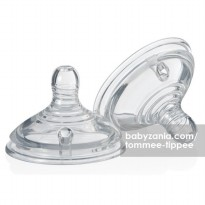 Tommee Tippee Closer to Nature Teats 2 Pack - Fast Flow (6m+)