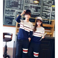 LP Cocktails Baju Couple Lengan Panjang / Kaos pasangan / Kopel