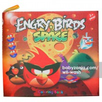 Wii-Wash Washable Book with Markers - Engry Birds Space