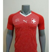 JERSEY BOLA SWISS HOME OFFICIAL WORLD CUP PIALA DUNIA 2018 GRADE ORI