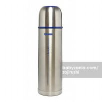 Zojirushi Tuff Slim Thermos Bottle 500ml - Silver