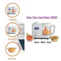 Baby Safe Baby Food Machine Steam & Bland LB003