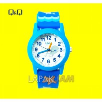 Jam Tangan Q&Q VR41 Tali Karet Anak WaterProof 30 mm Original Keren Best Seller