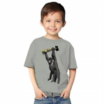 T-Shirt Glory Kaos 3D Kids Kingkong Rope - Grey