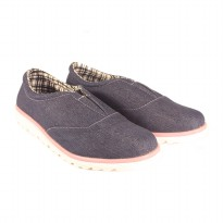 Dr.Kevin Women Slip On Shoes 43195 - 2 Colors [ Navy,Grey ]