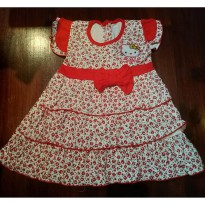 Baju Bayi / Dress Bayi Yenzing HelloKitty Flower