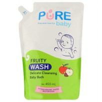 Pure Baby Wash Fruity 450 ml Refill
