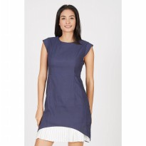 GW Gescher Dress in Navy