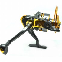 Debao Gulungan Pancing DB3000A Metal Fishing Spinning Reel 10 Ball Bearing Multi-Color