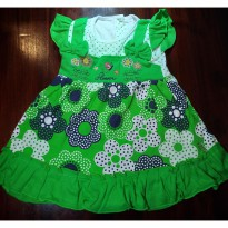Baju Bayi / Dress Bayi Yenzing Flower Polkadot