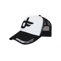 [JersiClothing] Topi Trucker Dream Fighter - Hitam Putih