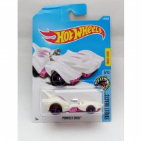 Hotwheels Purrfect Speed - putih