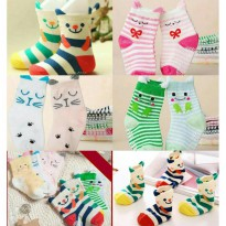Cute Animal Sock 2in1 Baby Antislip