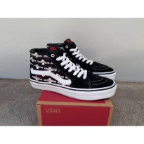 vans sk8 hi independent black wafle dt