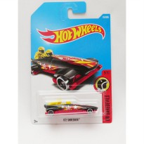 Hotwheels Ice Shredder - hitam