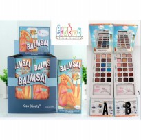 BALMSAI - EYESHADOW & BROW PALETTE + Bonus 2 Eye Stencils [ THE BALM ]