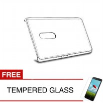 Crystal Case for Xiaomi Redmi Note 4X (Snapdragon) - Clear Hardcase + Gratis Tempered Glass