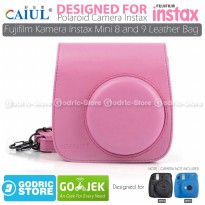 Leather Bag / Tas / Case for Fujifilm Kamera Polaroid Instax Mini 8 & 9