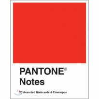 Pantone Notes / 20 Assorted Notecards & Envelopes