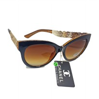 Sunglasses Channel Kacamata Anti UV Wanita Model Artis Fashion Ori Kw 1 005
